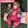 16 Inch 40cm Silicone Reborn Baby Doll Kids For Girls Baby Soft Silicone Vinyl Dolls Lifelike