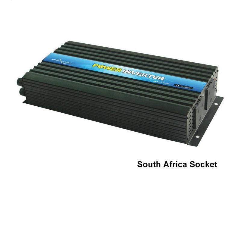 1500 Вт Инвертор DC12V к AC220V трансформатор для автомобиля и солнечной системы