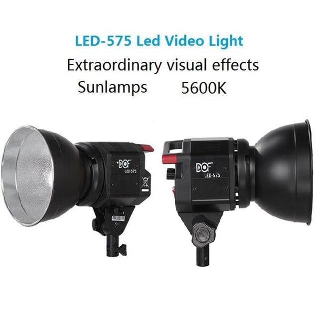 dof 575 50w led camera 5600k offical portable outdoor flash studio