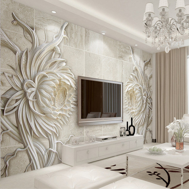 custom 3d mural wallpaper european style stone carving sunflowercustom 3d mural wallpaper european style stone carving sunflower bedroom tv background wall mural 3d embossed paper wallpapers