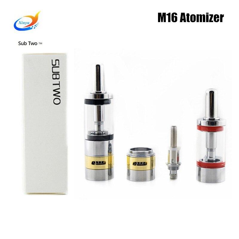 font b electronic b font cigarette Airflow control M16 2 6ml tank atomizer rebuildable ego