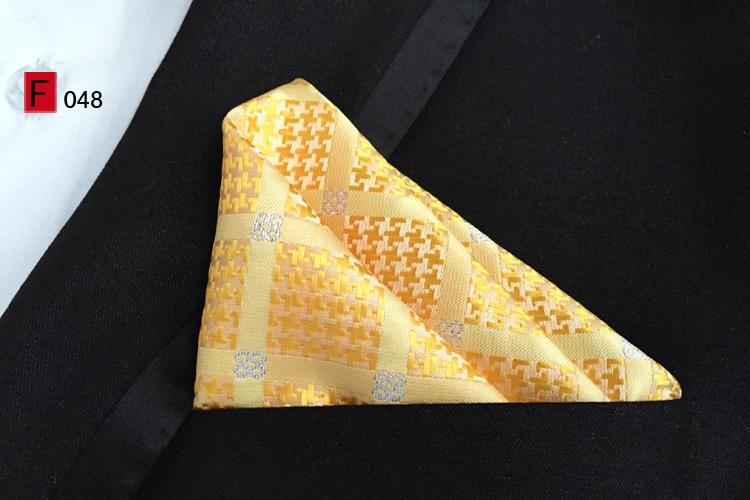 Джентльменские галстуки Набор 8 см строгий галстук желтый с пледы и с сверкающим бриллиантом галстук матч уникальный платок Hanky для костюмов