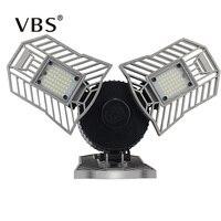 High Power Led Lamp E27 60W 144Leds High Intensity Deformable Lamp 6000LM Led Bulb 220V Industrial Warehouse LED Lamp Light