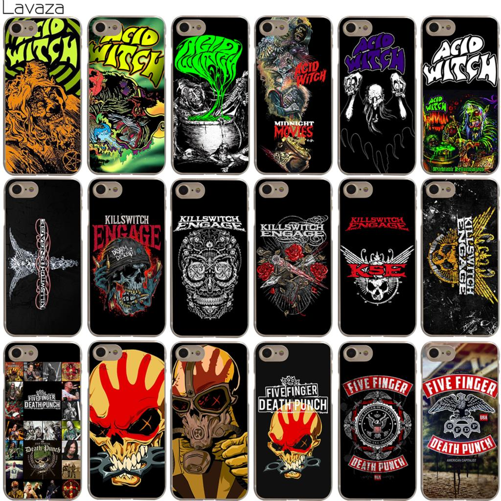 buy popular b40e2 a946f Lavaza Acid Witch Killswitch Engage Five Finger Death Punch 5FDP Case for  iPhone XS Max XR X 8 7 6 6S Plus 5 5S SE