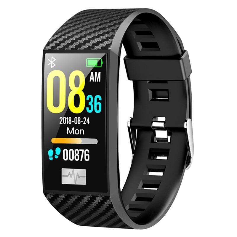 New DT58 Waterproof Smart Bracelet Fitness ECG Heart Rate Blood Pressure Monitor Fitness Tracker smart Watch Sports Wristband
