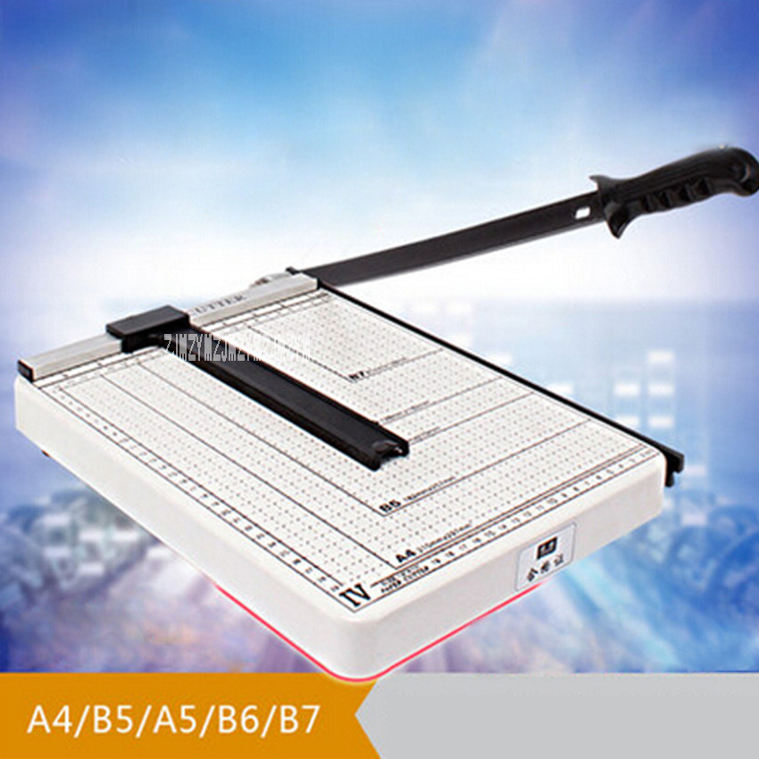 New Arrival Hot Sale A4 Manual Cutter Paper Cutter 8 sheets A4 Photo Cutter Manual Card Photo Mobile Phone Piege Cutter ...