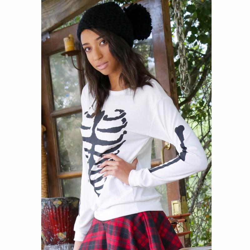 White-Stylish-Pullover-Skeleton-Print-Sweatshirt-LC25930-1-5_conew1