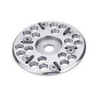 Neue Sicherer Typ 115mm 6 Hartmetall Zahn Holz Carving Disc Grinder Disc für 125 Winkel Grinder