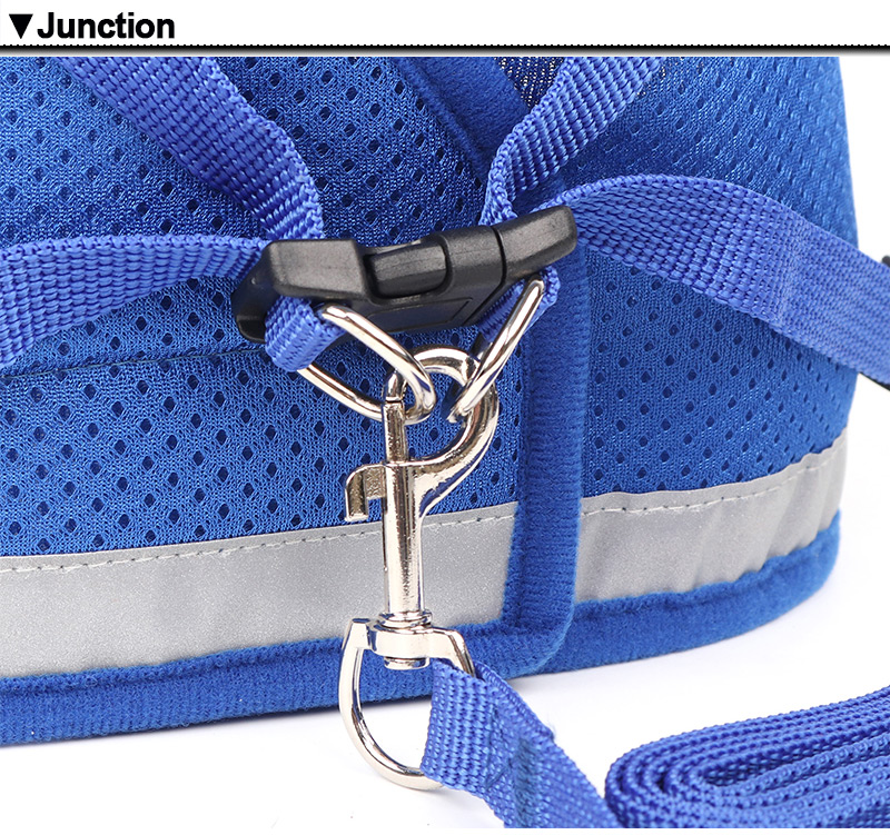 Reflective Harness And Leash Set For Small Pets