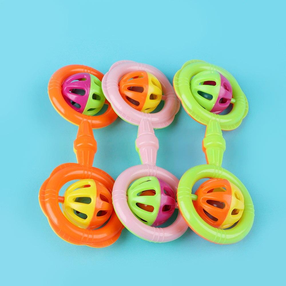 Bébé hochet cloches secouant les enfants jouets de développement précoce pour 0-3Y mignon anneau de main cloche saisir jouet bébé Playmate cadeau