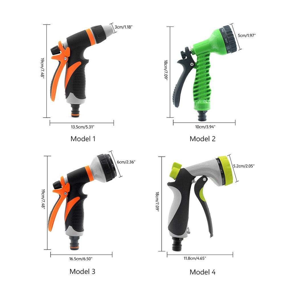 Image 4 - Pistola de agua multifuncional, pistola portátil para lavar el coche, jardín, riego, rociador de agua de alta presión, lavadora, herramienta de riegoPistolas de agua de jardín   -