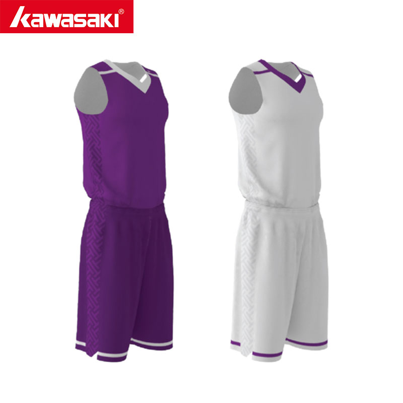 Kawasaki Custom Men & Women Reversible Basketball Suits Uniforms Breathable Sports Jerseys Shorts Basketball Team Wear libo breathable fitness sleeveless basketball suits for male