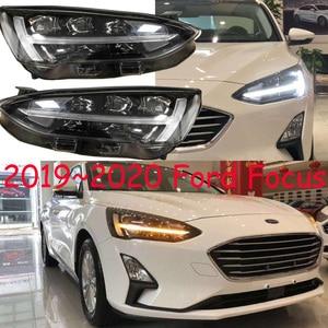 Image 5 - 2 stücke Auto Styling für Ford Focus Scheinwerfer 2019 jahr Focus LED Scheinwerfer DRL Kopf Lampe Engel Bi Xenon Strahl zubehör