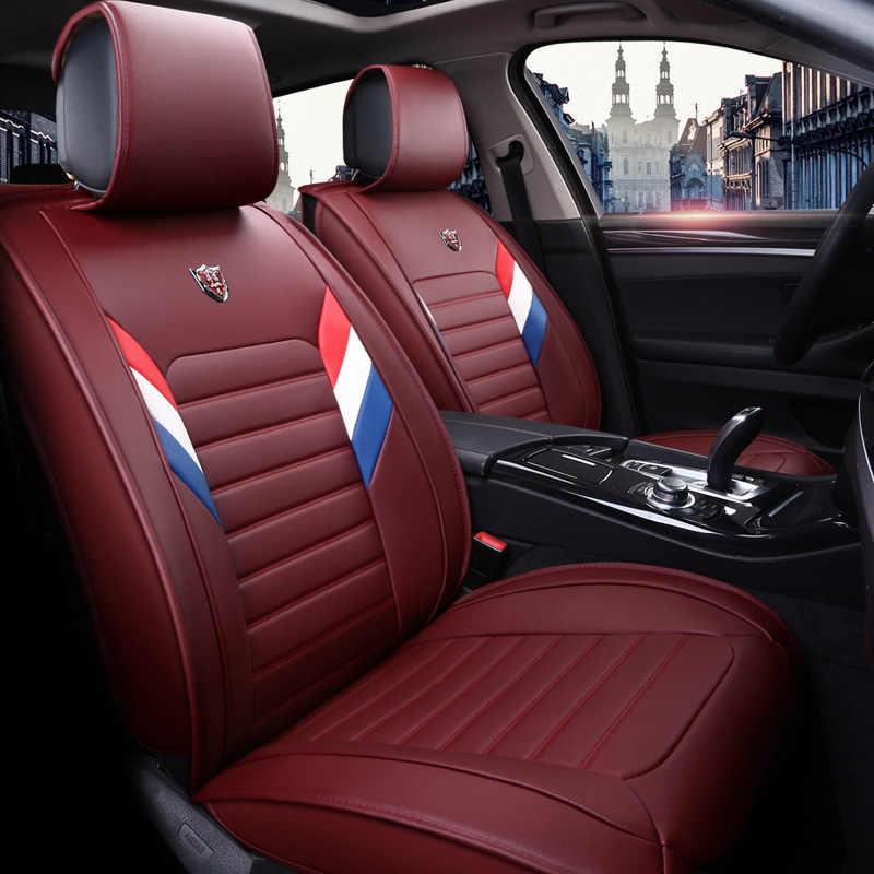 Nouveau PU cuir Auto universel housses de siège de voiture pour Lexus IS 250 is200t is200 is250 is300 ES300h ES 300 es300 es200 es250 coussin