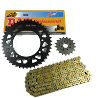 Motorcycle 520 O Ring Chain Set 17T Front Rear Sprocket For Kawasaki KLE500 2006 2007