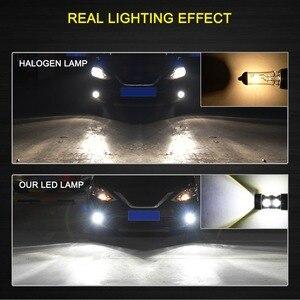 Image 5 - 2 pièces PSX24W LED H16 H10 H11 H8 Antibrouillard 9006 HB4 Auto Ampoule 880 881 50W LED Ampoule Voiture Diurne DRL Lampe 6000K Blanc