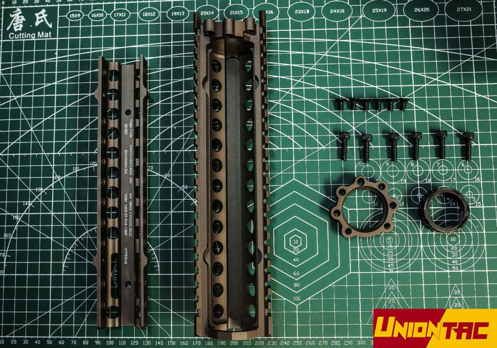 """Big Gragon MK18 RIS 7"""" airsoft handguard tactical rail-in Outdoor Tools from Sports & Entertainment    2"""