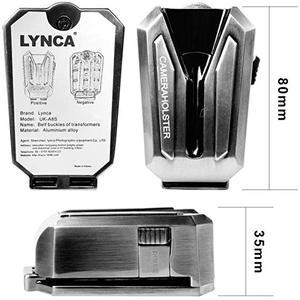 Image 5 - NiYi UK A8S Kamera Gürtel Clip Holster DSLR Kamera Taille Gürtel Schnalle Taste für DSLR kameras Canon Nikon Sony oder Zubehör