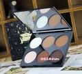 Aurelife 6 Colors matte pallete Bronzer Highlighter Makeup Foundation Powder Make up set