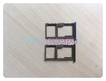Novaphopat dla Meizu M6S podajnik na karty SIM gniazdo micro sd adapter gniazda wymiana + śledzenie tanie i dobre opinie NONE CN (pochodzenie) for meilan s6 blu charm s6 m6s SIM Czytnik Kart SD