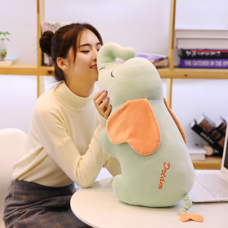 Stuffed & Plush Animals Dolls & Stuffed Toys 50cm/70cm Cute Elephant Plush Toys Stuffed Animal Elephant Pig Doll Pusheen Kids Soft Toys For Children Sofa Cushion Pillow Doll