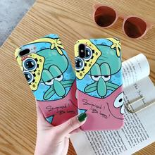IMIDO New Cartoon Octopus Anti-fall Fashion Phone Cases Water Pasting PC Case For Huawei p20 pro p30 mae20