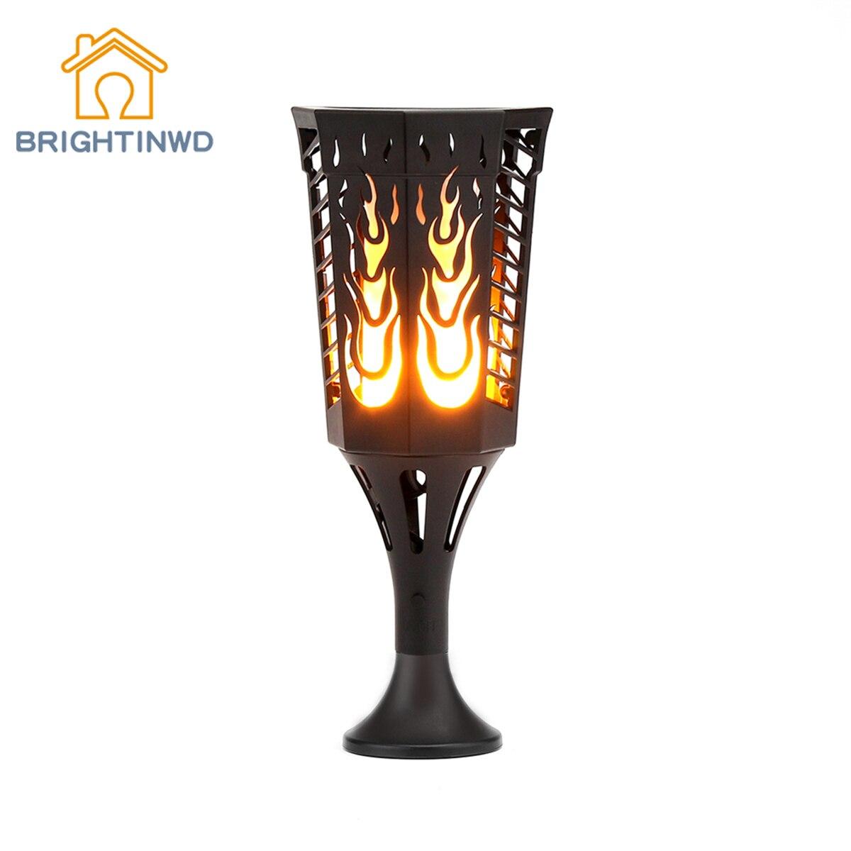 Wedding garden Solar light waterproof Sensor Lawn Lamp Solar LED Torch lamp Solar Flame Lights for Lawn Garden Yard Driveway цена