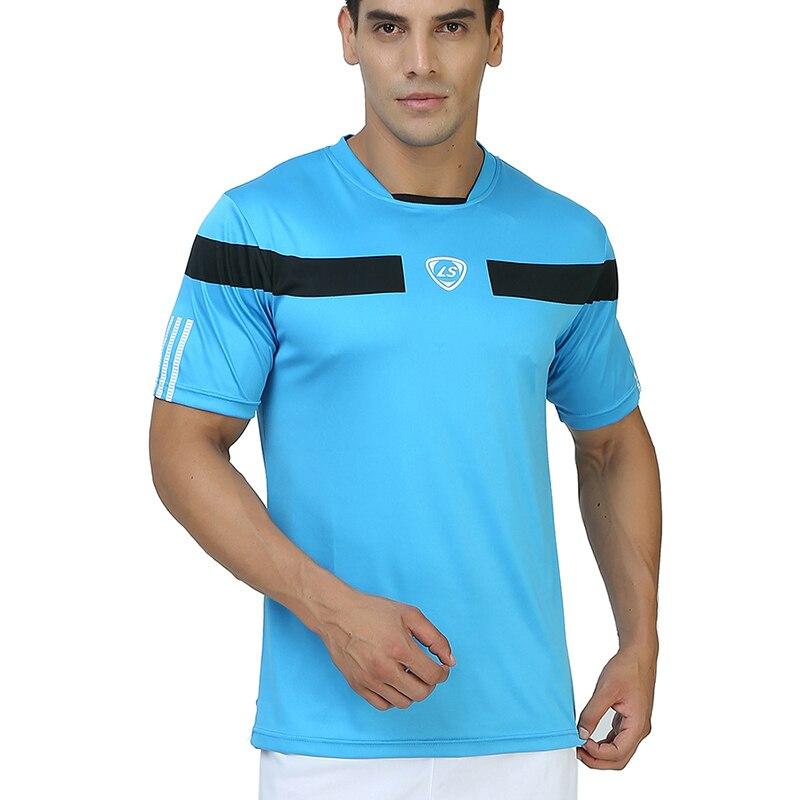 Neue Sport Männer T-shirt Schnell Trocken Wicking Laufende T-shirts Hombre Ausbildung Atmungsaktive Sport Fitness Gym Tops Tees Sportswear