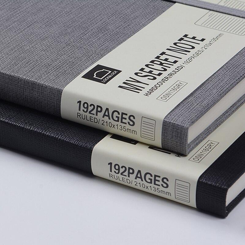 Benzi My Secret Note Series Notebook A5 Creative Vintage Strap