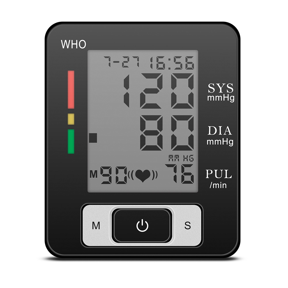 New Digital Electric Blood Pressure Monitor LCD Screen Automatic Sphygmomanometer Heart Beat Meter Machine Measuring Tool