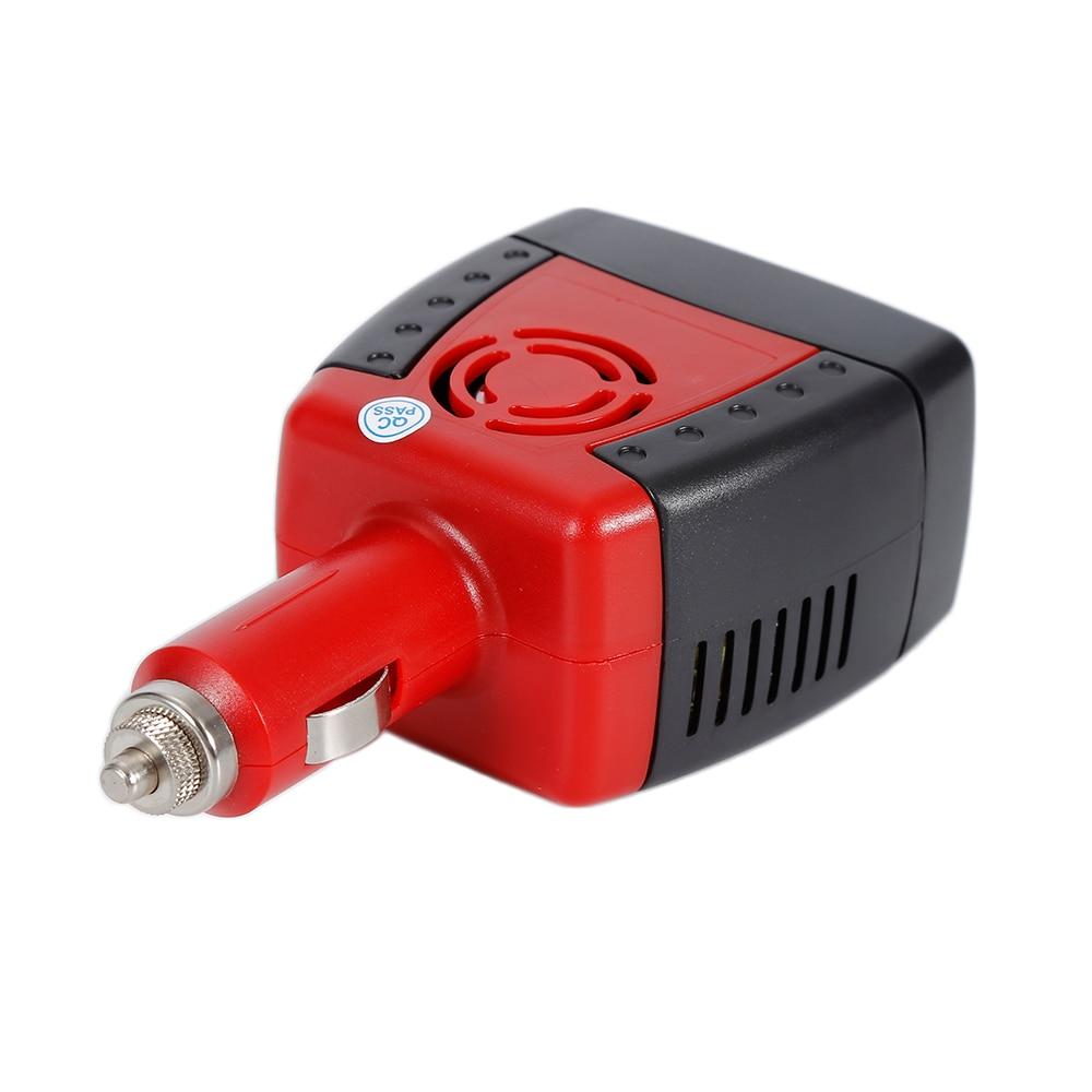 Новинка 150 Вт автомобильный инвертор 12 В постоянного тока до 220 В/110 В адаптер переменного тока с прикуривателем и USB 2.1A/0.5A для ноутбука