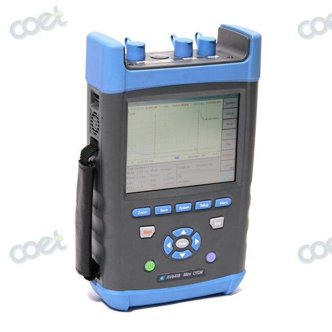 CETC AV6418 1310/1550nm 45/43dB GPON OTDR Tester Fiber Optic FTTX OTDR with Power Meter and Fiber VFL