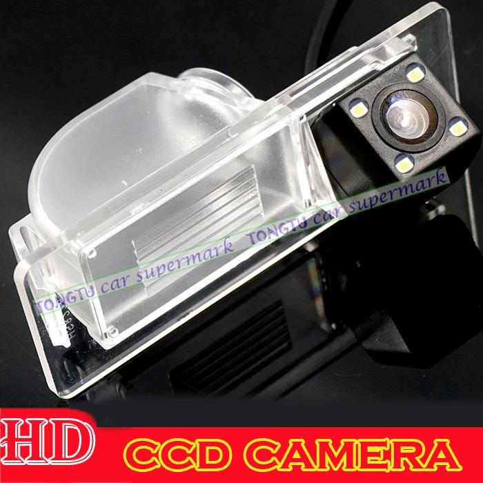 wire wireless Car Camera Car Rear View Camera With 4 LED CCD HD Camera For Volkswagen Santana / VW Jetta / Skoda Rapid 2013