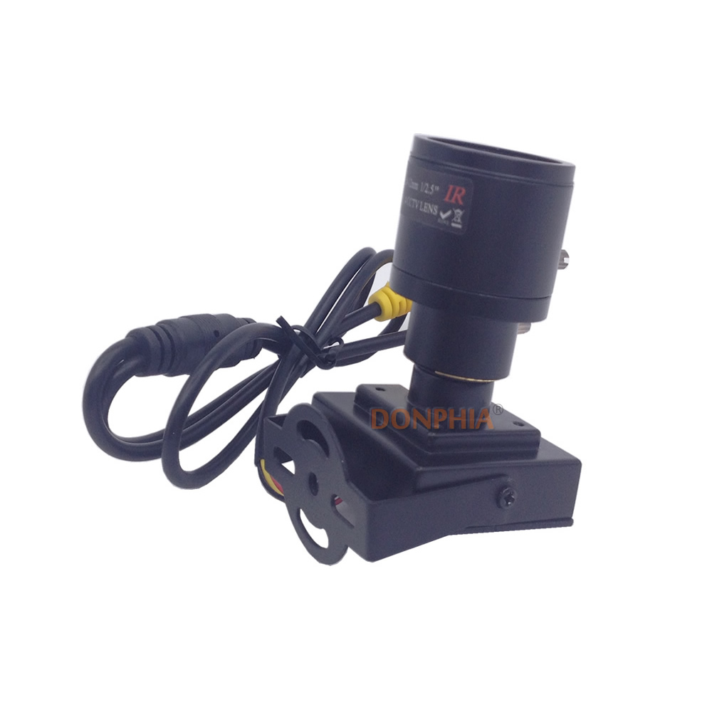 800tvl Varifocal Objectif Mini Caméra 2.8-12mm Objectif Réglable + - Sécurité et protection - Photo 3
