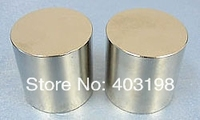 Promotions!Super Powerful Strong Rare Earth Block NdFeB Magnet Neodymium N42 Magnets D45 * 25mm Free Shipping