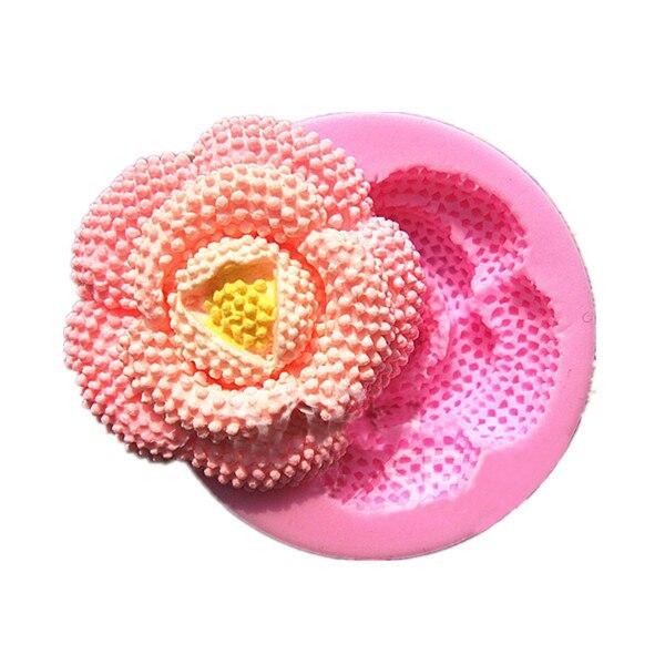 Kulaté perly květiny nástroje pro vaření Vánoce svatební dekorace Silikonové formy Fondant Sugar Bow řemesla formy DIY dort zdobení