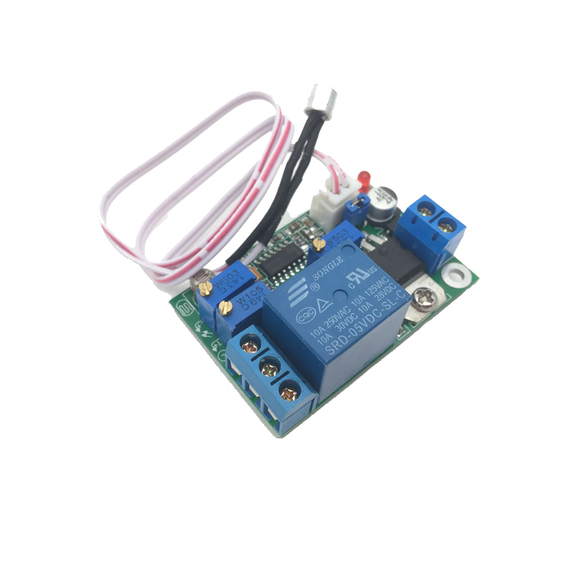 5V 12V 24V DC Sound Sensor / Light Control Relay Switch Module Adjustable Delay dc 5v light control switch photoresistor relay module detection sensor xh m131