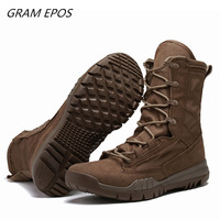 Men Desert Tactical Mens Boots Wear resisting Army Boots Work&Safety Men Waterproof Outdoor Hiking Men Combat Ankle Boots Feamle