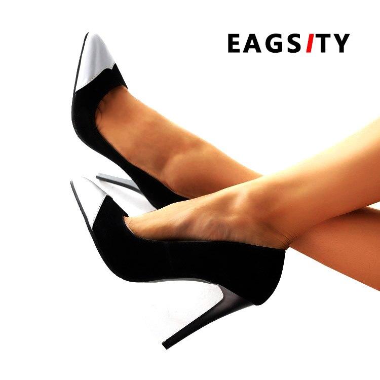 Hauts Stiletto Mode Partie Talons Pompes Bout Mariage Femmes Dames Pointu Sexe Pu Or De À Eagsity Chaussures argent Robe ZwqtxHgtv