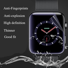 Preço de fábrica 2 pcs 3D TPU Anti-Choque (Não De Vidro) cobertura completa Relógio Série 2/3 Tampa Do Protetor de Tela Película Protetora Para A Apple