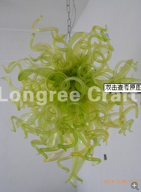 Living Room Furniture Style Hand Blown Glass Chandelier