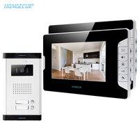 HOMSECUR 2 יחידות דירה Wired וידאו דלת טלפון 7