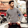 SIMWOOD 2016 New Autumn Winter Casual Sweater Men  Fashion Pullovers Knitted O-neck  fashion  MY2040