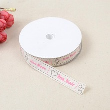 1.5CM Wide Ribbon Cotton Material Wedding Bow Decoration DIY Gift Packaging With Whorl Accessories