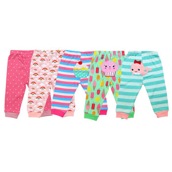 100% Cotton Baby's Pants with Cartoon Print 4