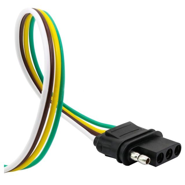 EDFY TIROL UNS stil 4 pin anhänger flach steckdose anhänger adapter ...