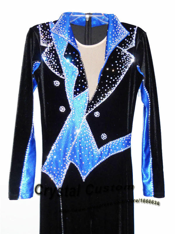Custom Figure Skating Clothes For Men /Boys Fashion New Brand Vogue Figure Skating Competition Costume DR3131