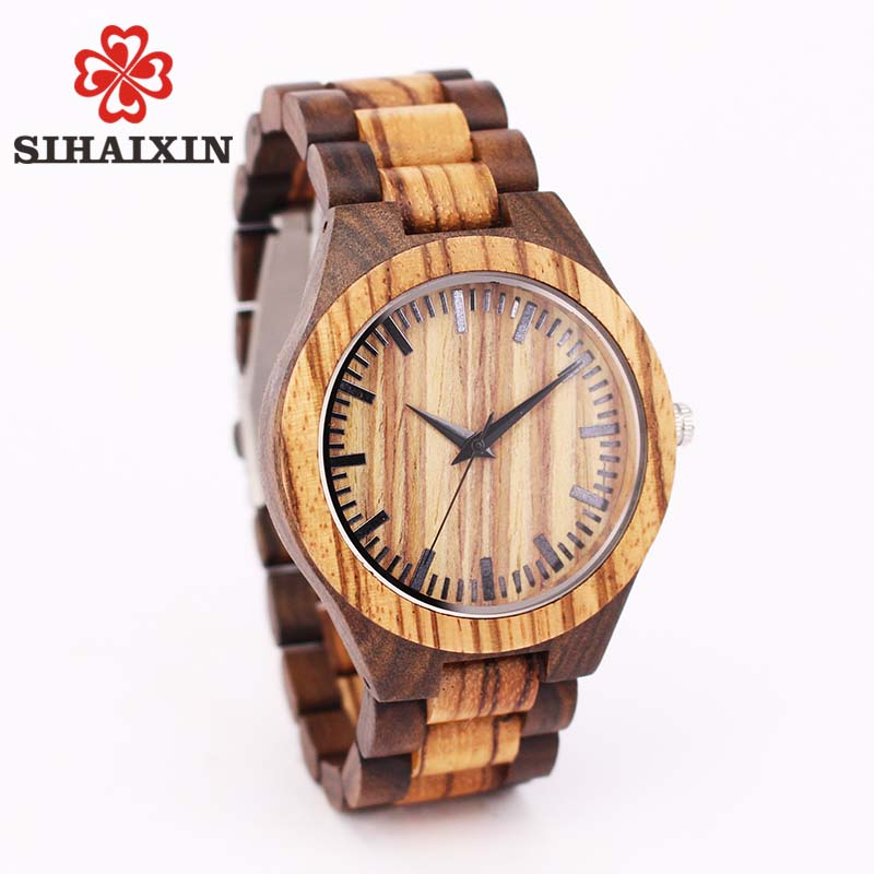 men wood watch male1