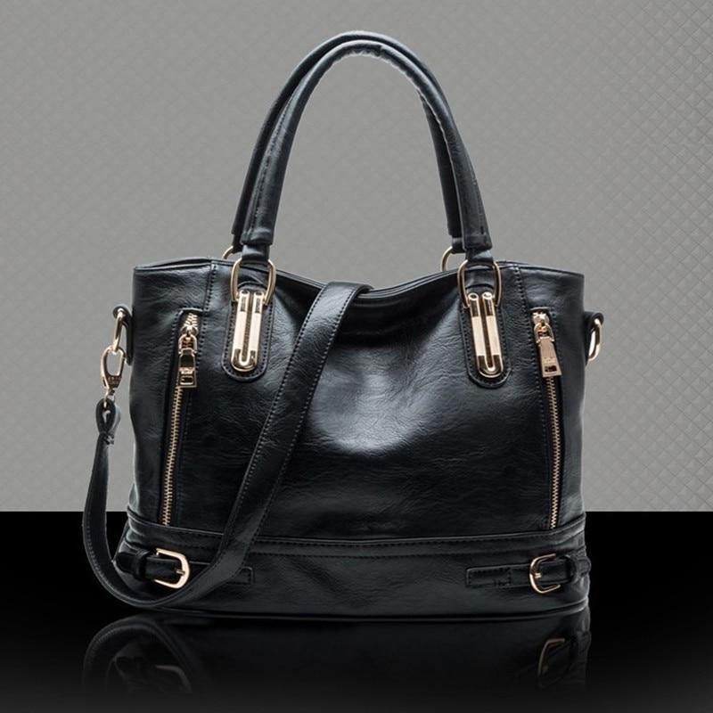 couro pu composto bolsa tote Size : 34*26*12cm