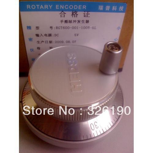Manual pulse generator, MPG, handwheel for CNC pulse 342g